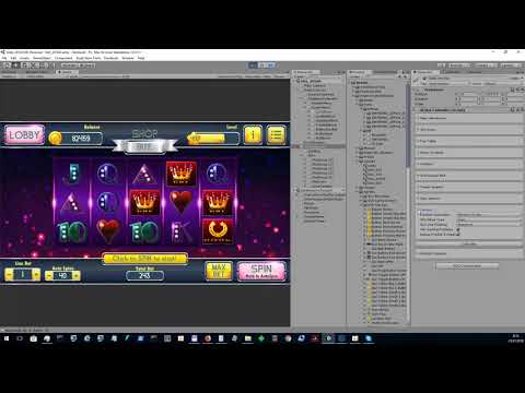 How To Create Slot Game 3x5 All Lines Modern Suits Slot Asset For Unity Asset Store