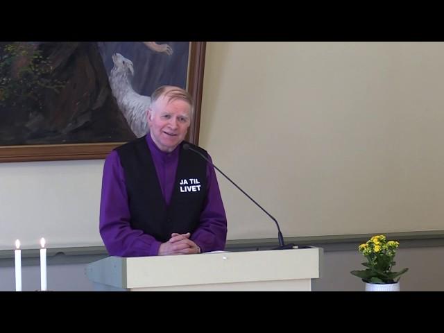 2019.04.07 Finn Indrebø, – Hvor er Gud i alt dette?