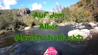 Paddelszene Junior Team an der Ardeche 2012