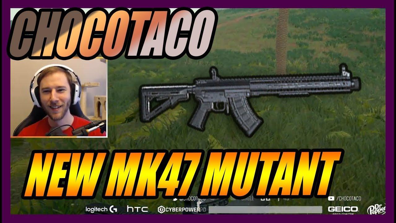 CHOCOTACO NEW GUN MK47 MUTANT  | PUBG | SEPTEMBER 12, 2018