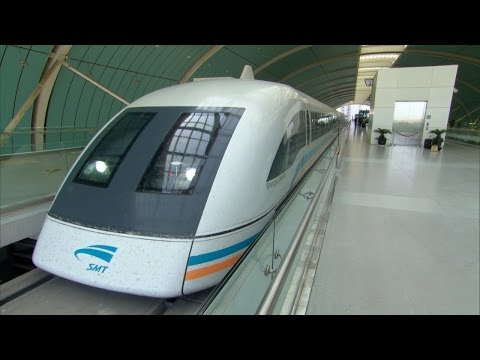 Shanghai's Transrapid Maglev Guideway