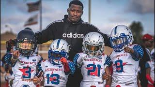 Top Training | 8U Laced Facts Youth Football Experience | Ballers | 2017 Camp