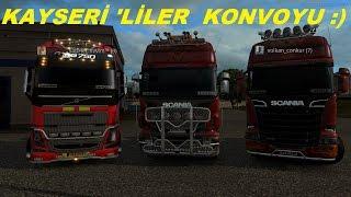 Euro Truck Simulator 2 Kayserili Volkan & Ordulu Yılmazcan