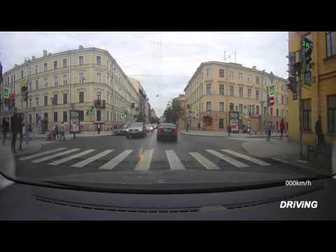 Driving in Saint Petersburg