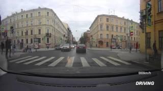 Driving in Saint Petersburg