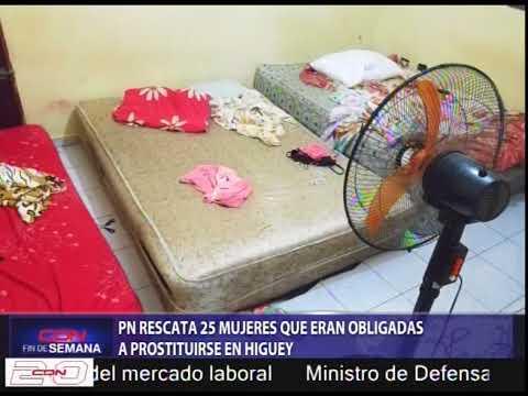 PN rescata 25 mujeres que eran obligadas a prostituirse en Higuey