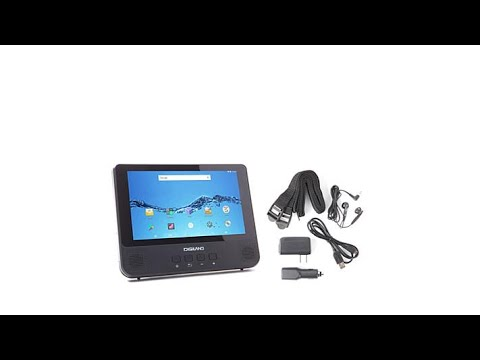DigiLand 9 16GB Android Tablet and DVD Player Combo with