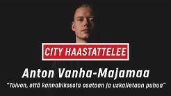 """Anton Vanha-Majamaa: """"Toivon, että kannabiksesta osataan ja uskalletaan puhua"""""""