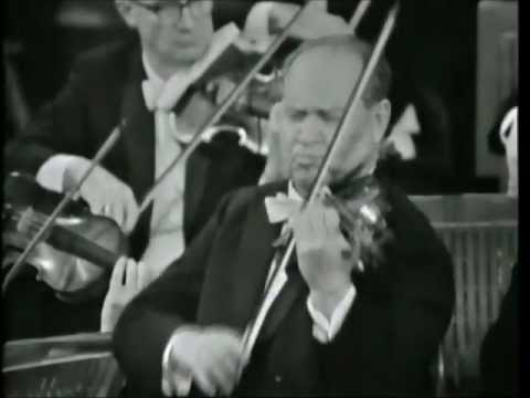 David Oistrakh - Beethoven Violin Concerto in D major, 1.  Allegro ma non troppo