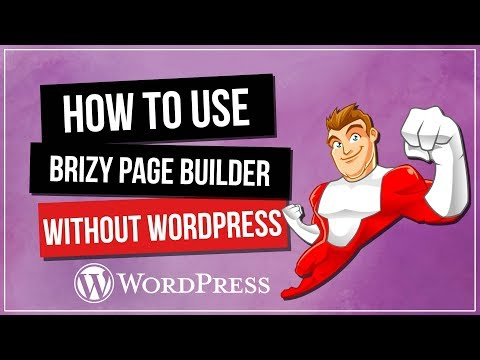 How to Use Brizy Page Builder WITHOUT WordPress - 동영상