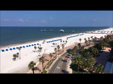 Florida Travel: Time-lapse from Clearwater Beach
