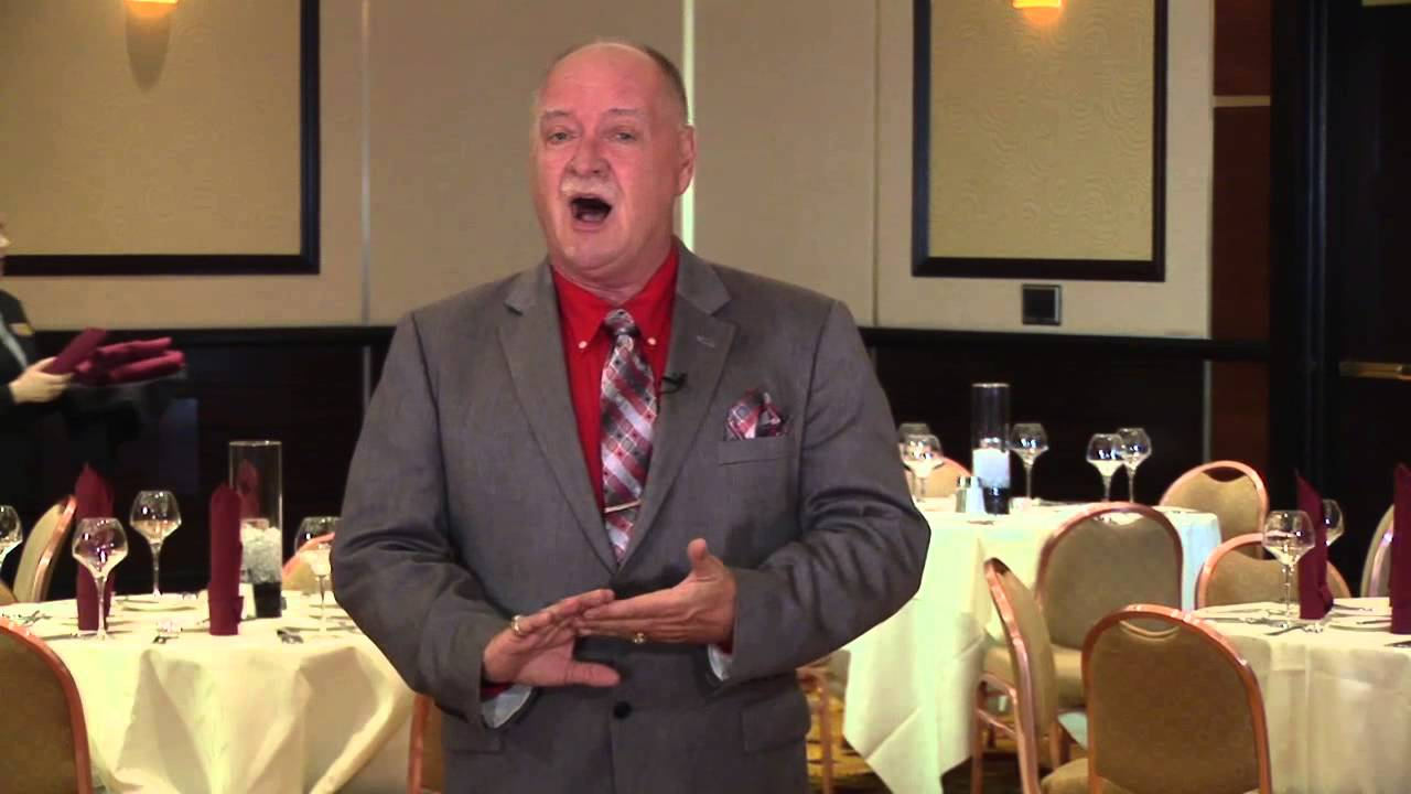 rick gilbert banquet manager for agua caliente casino resort spa youtube - Banquet Manager