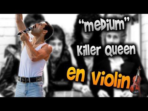 Queen - Killer Queen en Violín|How to Play,Tutorial,Tab,sheet music,Como Tocar|Manukesman thumbnail