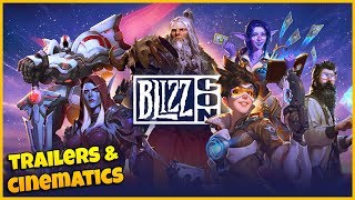 Blizzcon 2019 ALL Cinematics & Game Trailers | Shadowlands, Diablo 4, Overwatch 2 & More