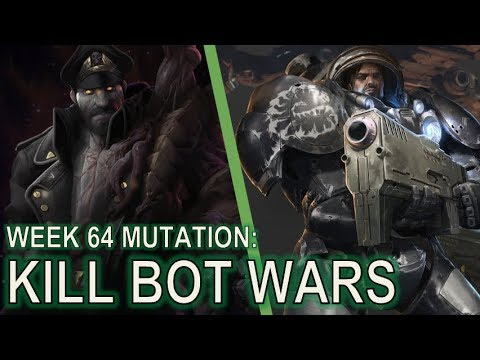 Starcraft 2 Co-Op Mutation #64: Kill Bot Wars [Feeding Program]