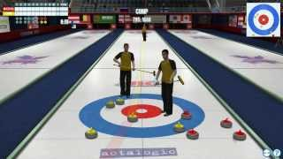 Epic Curling 2012 action (PC Curling SIM Game)