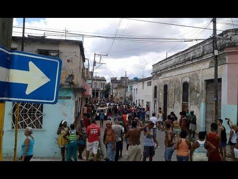 La Habana: Protesta en 10 de Octubre