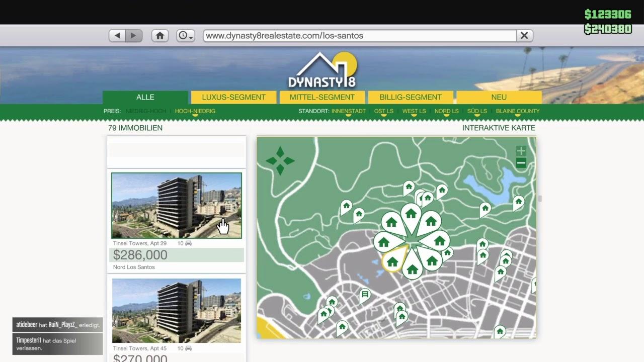 Immobilien Verkaufen Gta 5 Online
