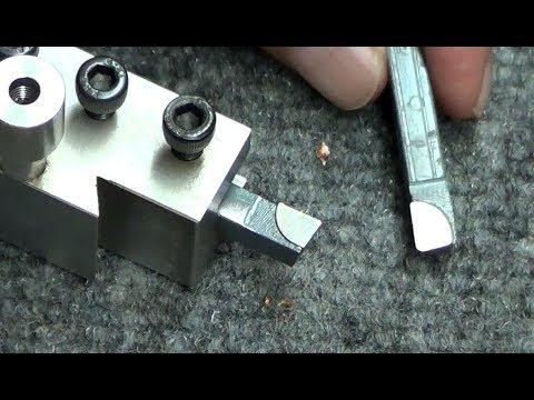 How to use the HF Carbide Tipped Lathe Tool Set