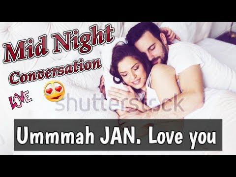 A Sweet Late Night Conversation Between GIRL & BOY | Lovely & Cute Conversation