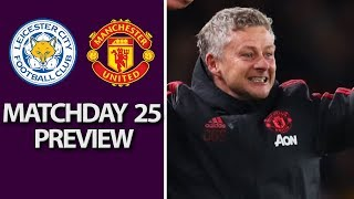 Leicester City v. Man United | PREMIER LEAGUE MATCH PREVIEW | 2/3/19 | NBC Sports