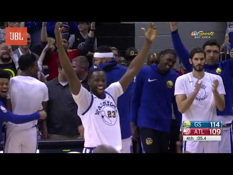 Sounds of the Game: Warriors at Hawks - 3/2/18