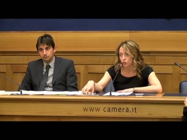 GIORGIA MELONI SU CHIL SRL DELLA FAMIGLIA RENZI - VIDEO INTEGRALE