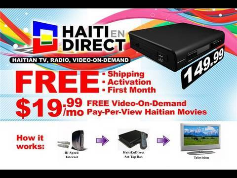 HAITI EN DIRECT - LIVE TV & RADIO FROM HAITI