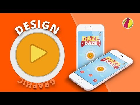 Graphic Design | Gravit Designer |  Game Art Design | Creating Mobile  Game Home Screen Menu