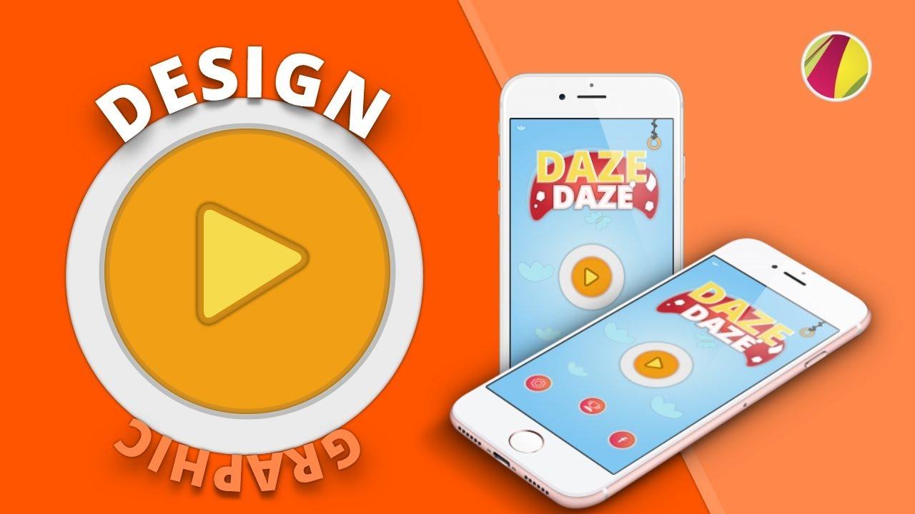 Graphic Design Gravit Designer Game Art Design Creating Mobile Game Home Screen Menu