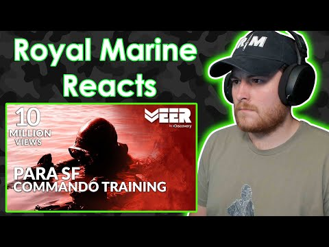 Royal Marine Reacts To Toughest Military Training in India - Training of Para SF Commando