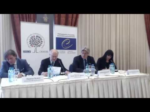 the fYr Macedonia, Presidential Elections, 13 April 2014: Elex Obs. Mission Press Conference