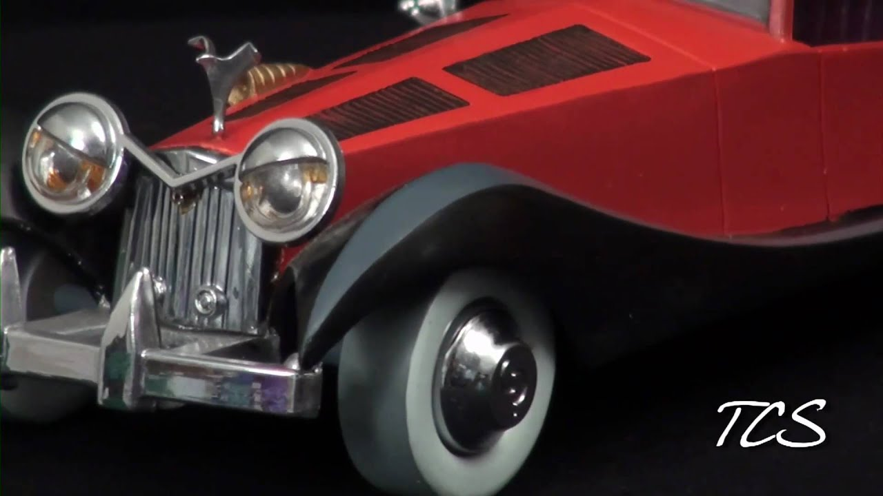 WDCC 101 Dalmations Cruella De Vil's Car - YouTube