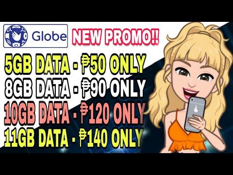 BAGONG PROMO NG GLOBE 8GB DATA FOR ONLY ₱90   PALAKASIN ANG DATA   GO50 GLOBE ONE APP   HACK 2020