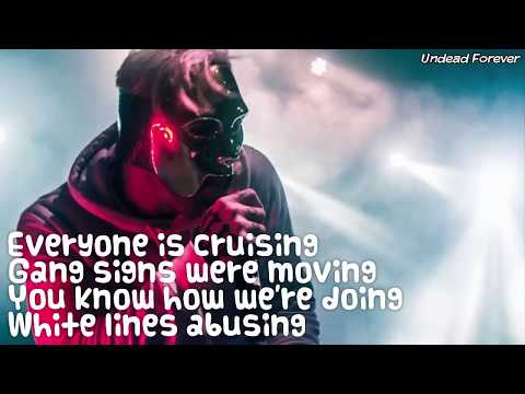 Hollywood Undead - Ghost Beach [Lyrics Video]