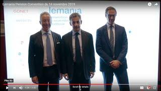 Lemania Pension Convention du 14 novembre 2019