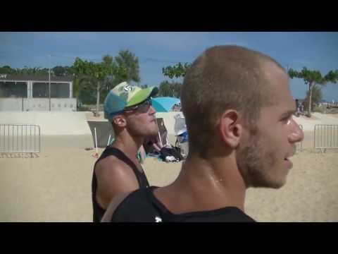 Beach Volley Run DECATHLON Mascukin Centre Sportif Municipal des Plages Toulon Live TV Sports 2017