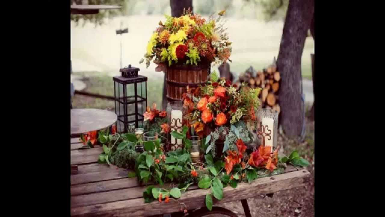 Creative Rustic Fall Wedding Ideas Home Art Design Decorations