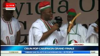 Jonathan, PDP Leaders Woo Osun Citizens Ahead Of Guber Election Pt.9