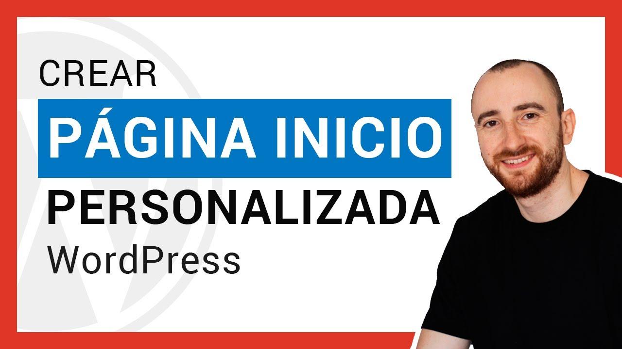 Cómo crear la página de inicio en WordPress con GeneratePress + ...
