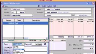 Acme infinity jewellery software online billing
