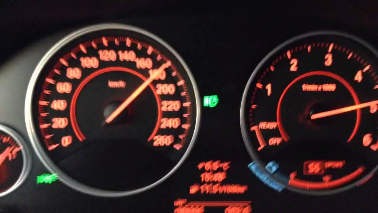 Bmw 335d F30 Xdrive 80 200 Km H Acceleration Youtube
