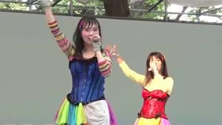2017年8月5日 大国魂神社 府中市商工まつり 「仮面女子ライブ」
