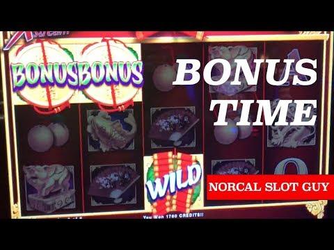 BONUS PLAY ☆ STINKIN' RICH & FU NAN FU NU @ Graton Casino | NorCal Slot Guy