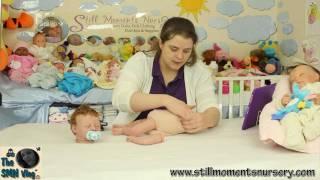 Weighting your reborn doll body tutorial - Nikki Holland vlog #124