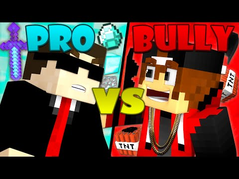 Thumbnail: Bully vs. Pro - Minecraft