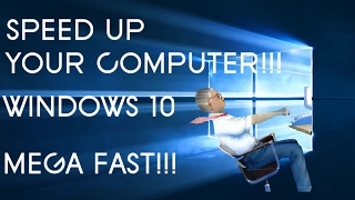 How to Speed Up Your Computer - Windows 10   Simplified   Mega Fast!!!