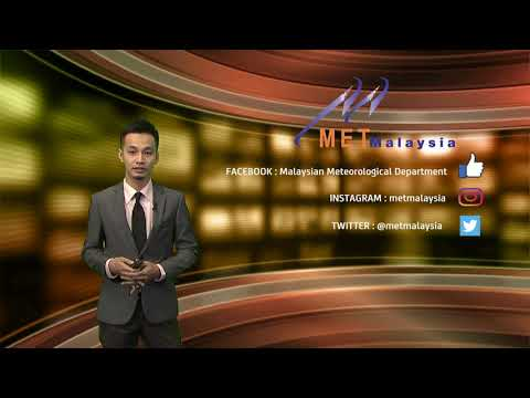 MET MALAYSIA - Laporan Cuaca 11 Mei 2021