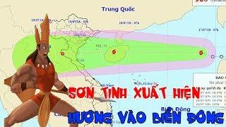 Tin Bão Mới Nhất: Bão Sơn Tinh - Cơn Bão số 3 xuất hiện trên Biển Đông, hướng vào miền Trung