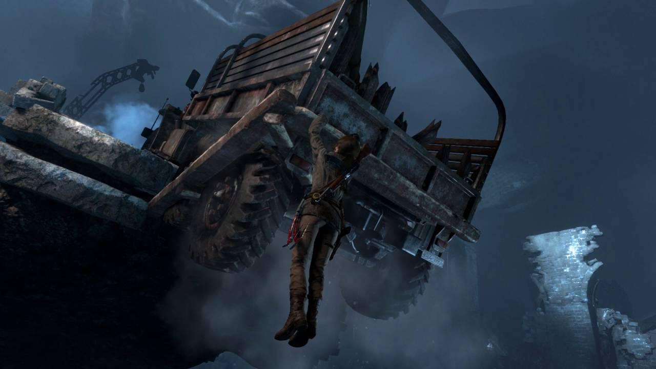 Rise Of The Tomb Raider Walkthrough Abandoned Mines Youtube